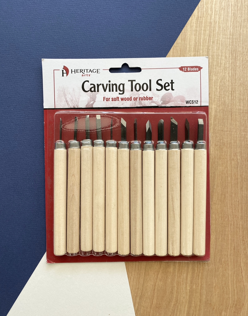 Heritage Arts Carving Tools, 12-Piece Set
