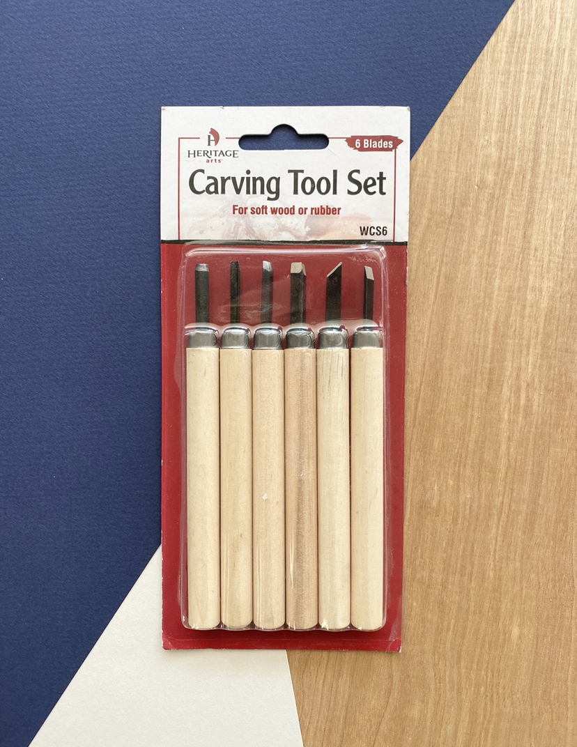 Heritage Arts Carving Tools, 6-Piece Set
