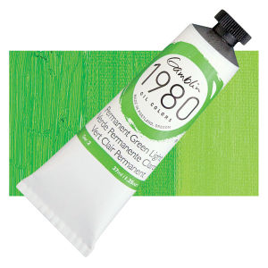 1980 Oil Color 37mL - Permanent Green Light