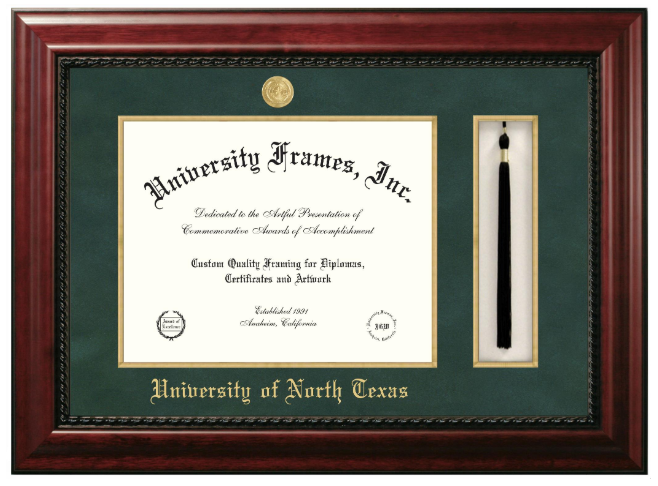 EXECUTIVE TASSEL DIPLOMA FRAME