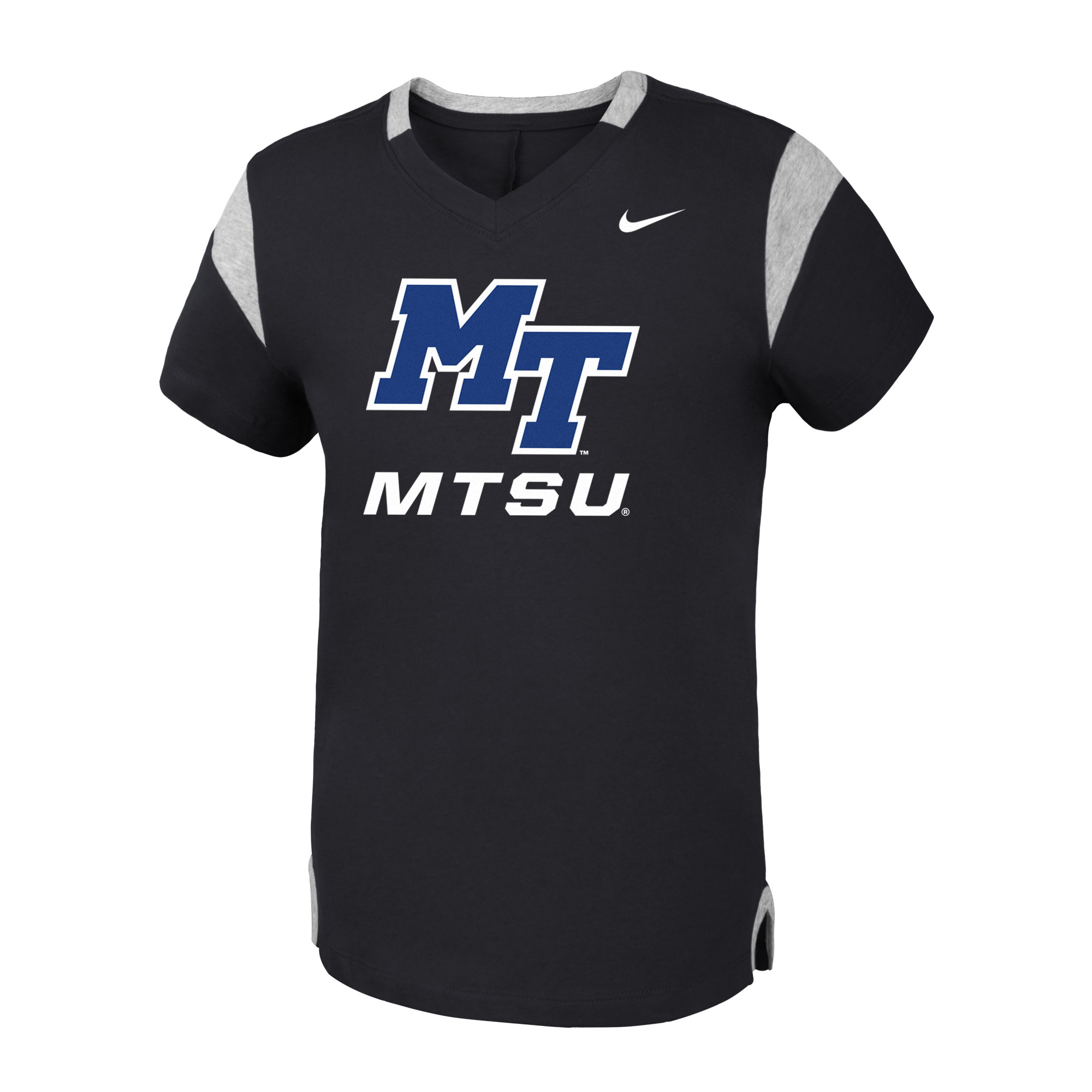 Youth MT Logo Girls Nike® Fan VTee