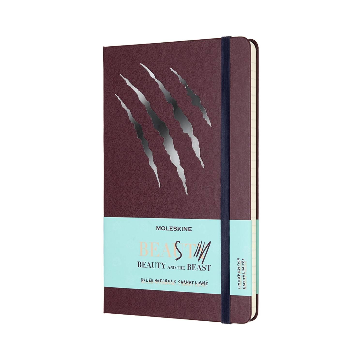 The Beauty and the Beast -Limited Edition Notebook - Large Ruled Beast By MOLESKINE