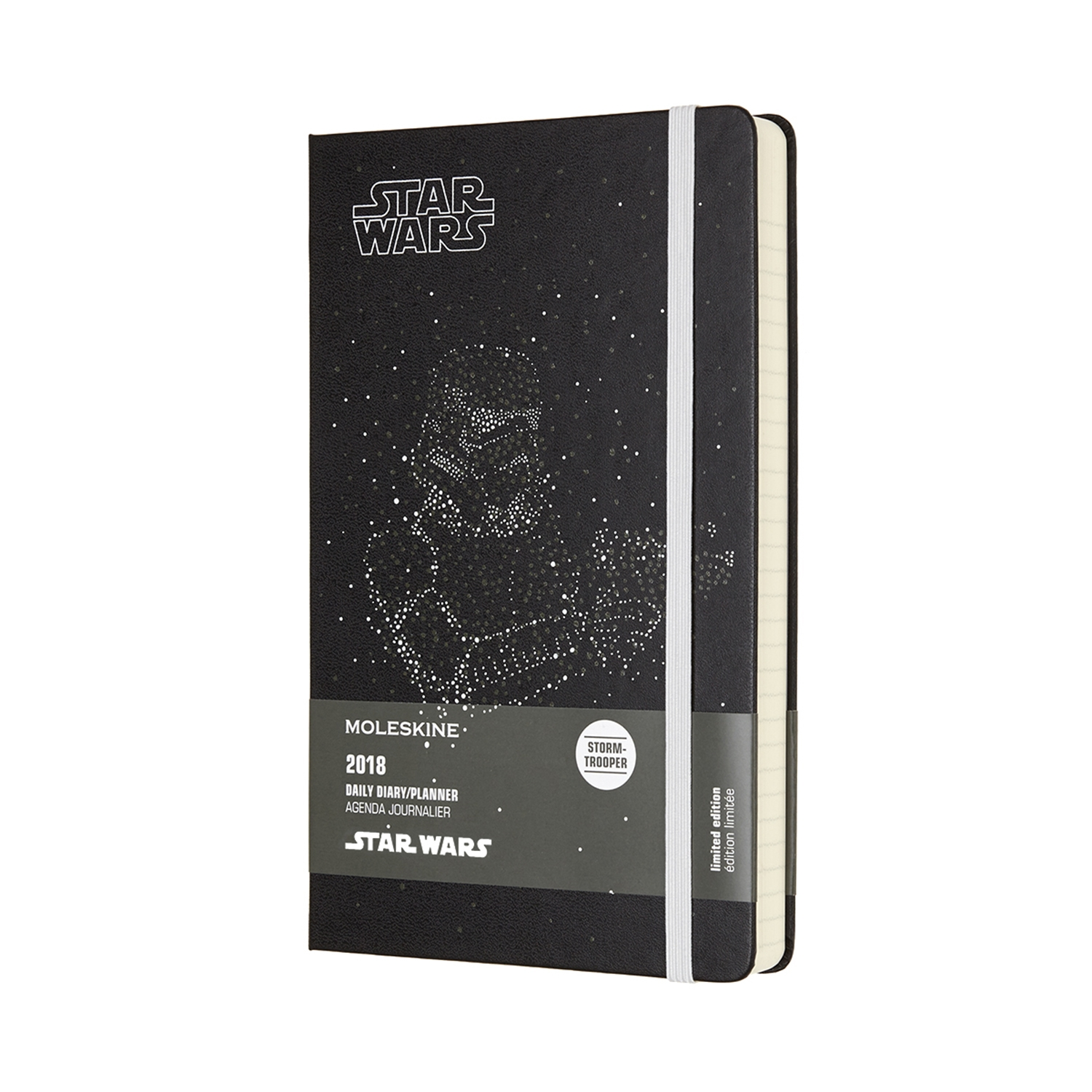 MOLESKINE 12M STAR WARS DAILY LARGE STORMTROOPER by Moleskine