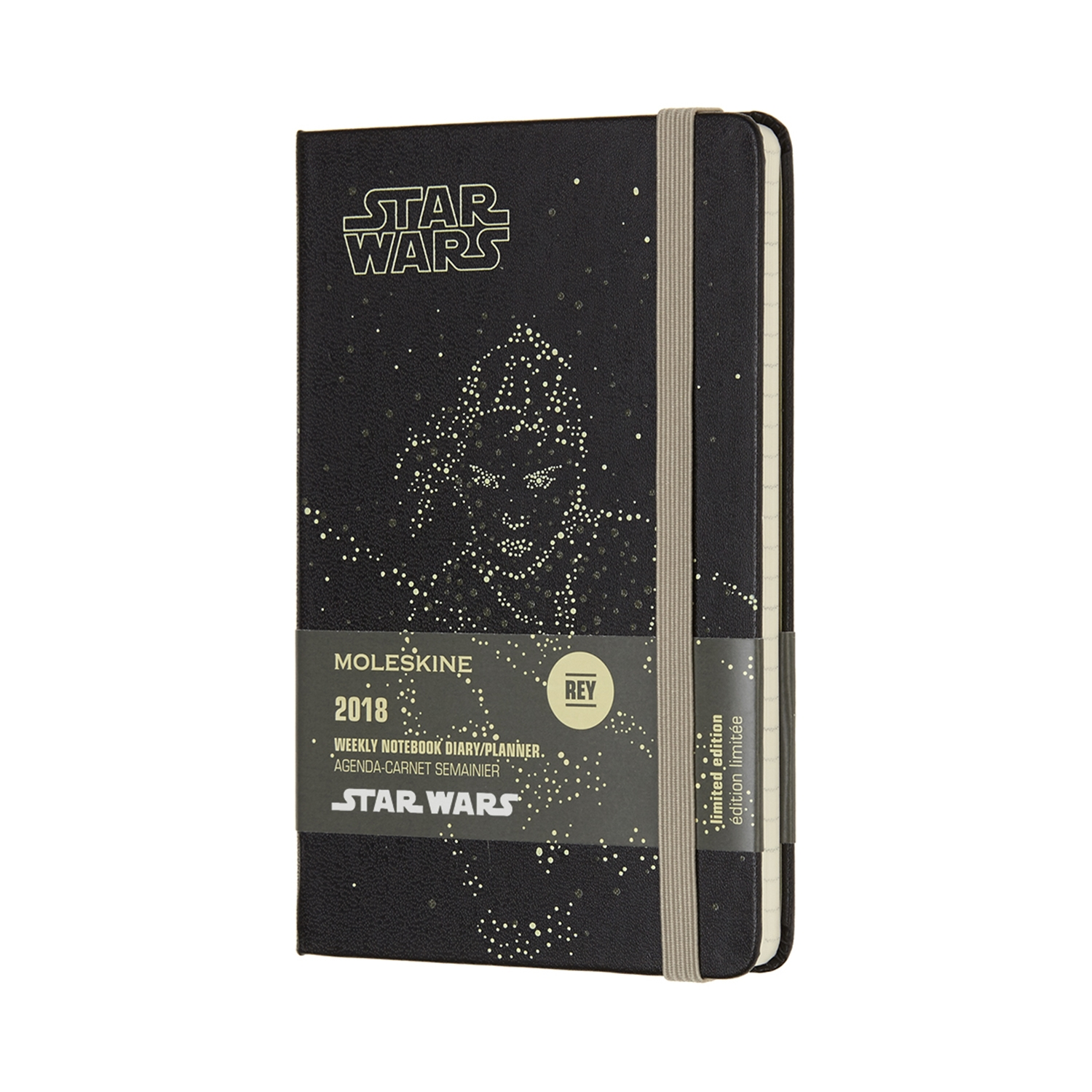 MOLESKINE 12M STAR WARS WEEKLY NOTEBOOK POCKET REY by MOLESKINE