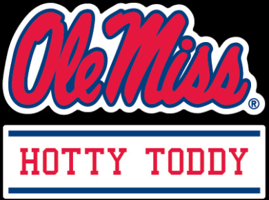 Namedrop Script Vinyl Decal Hotty Toddy 3 in