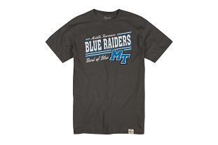 Middle Tennessee Blue Raiders Band of Blue Tshirt