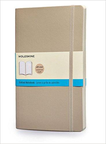 Moleskine Notebook - Large - Dotted - Khaki Beige - Soft