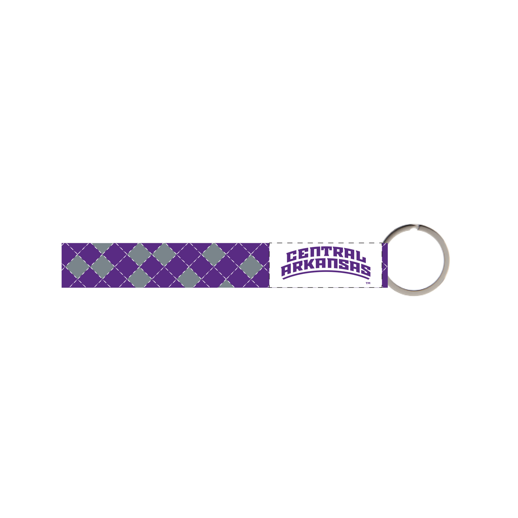 Braided Central Arkansas Wristlet