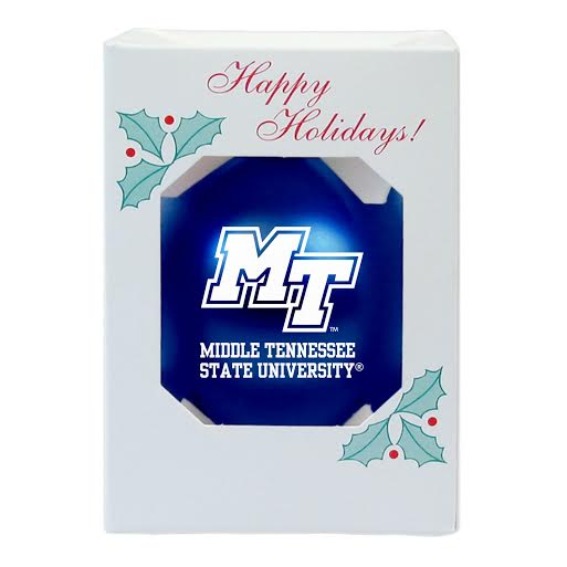 MT Logo Shatterproof Ornament