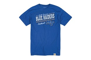 Middle Tennessee Blue Raiders Softball Shirt