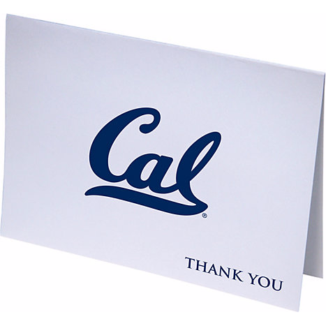 University of California Berkeley Cal Logo Thank You Notes 10 Pack