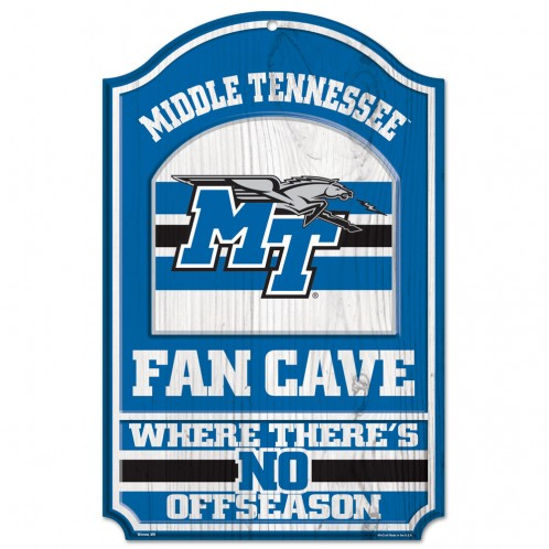 Middle Tennessee Fan Cave Wooden Sign