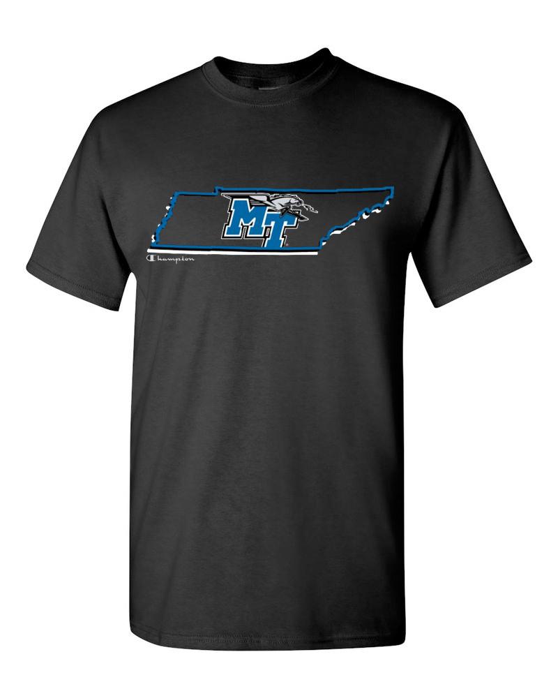 MT Logo w/ Lightning State Outline Tshirt