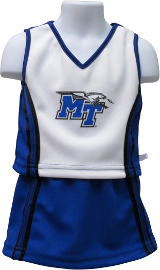 MT Logo w/ Lightning Toddler Cheerleading Uniform