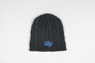 MT Logo Classic Cable Knit Beanie