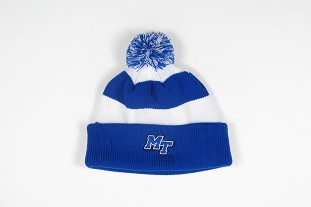 MT Logo Rugby Striped Knit Cuff Beanie