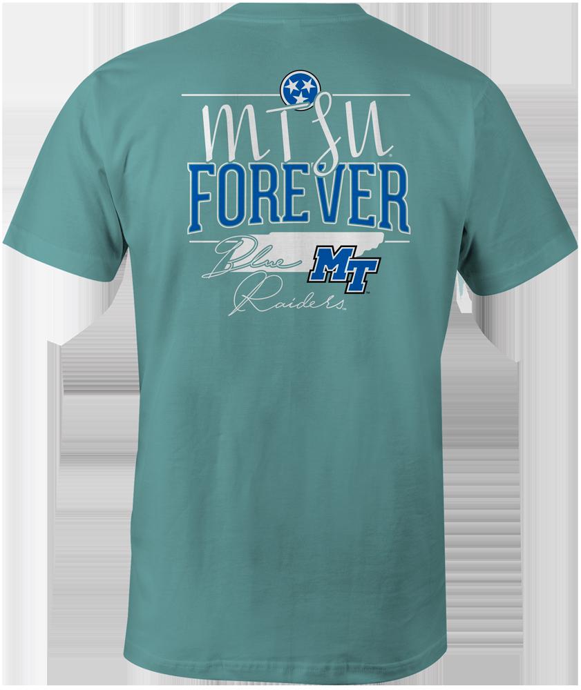 MTSU Forever Tristar Comfort Colors Pocket Tshirt