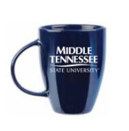 Middle Tennessee State University Lustre Bistro Mug