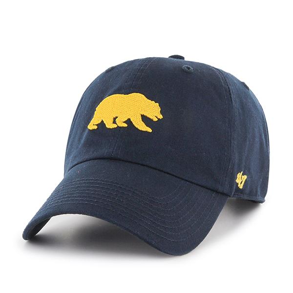 "Cal Bears 47 Brand Clean Up Hat ""Walking Bear"""