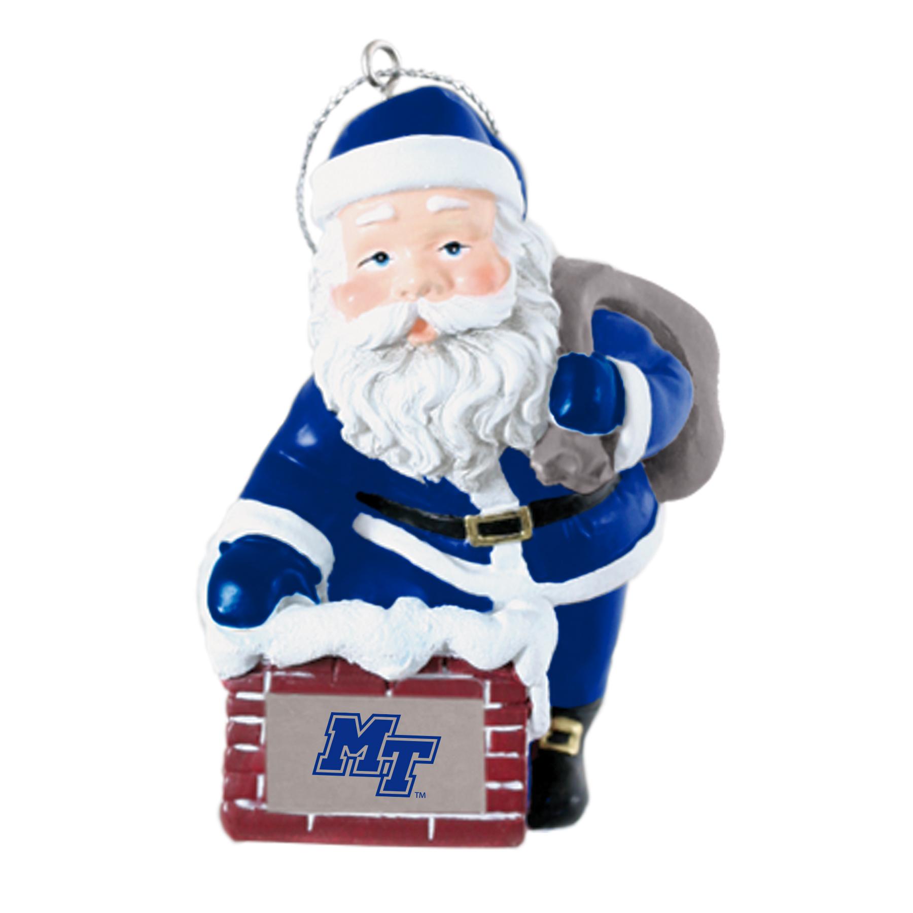 MT Rooftop Santa Ornaments