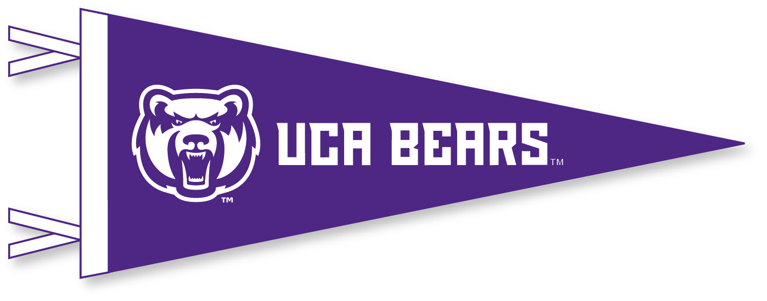 UCA Bears Mini Pennant