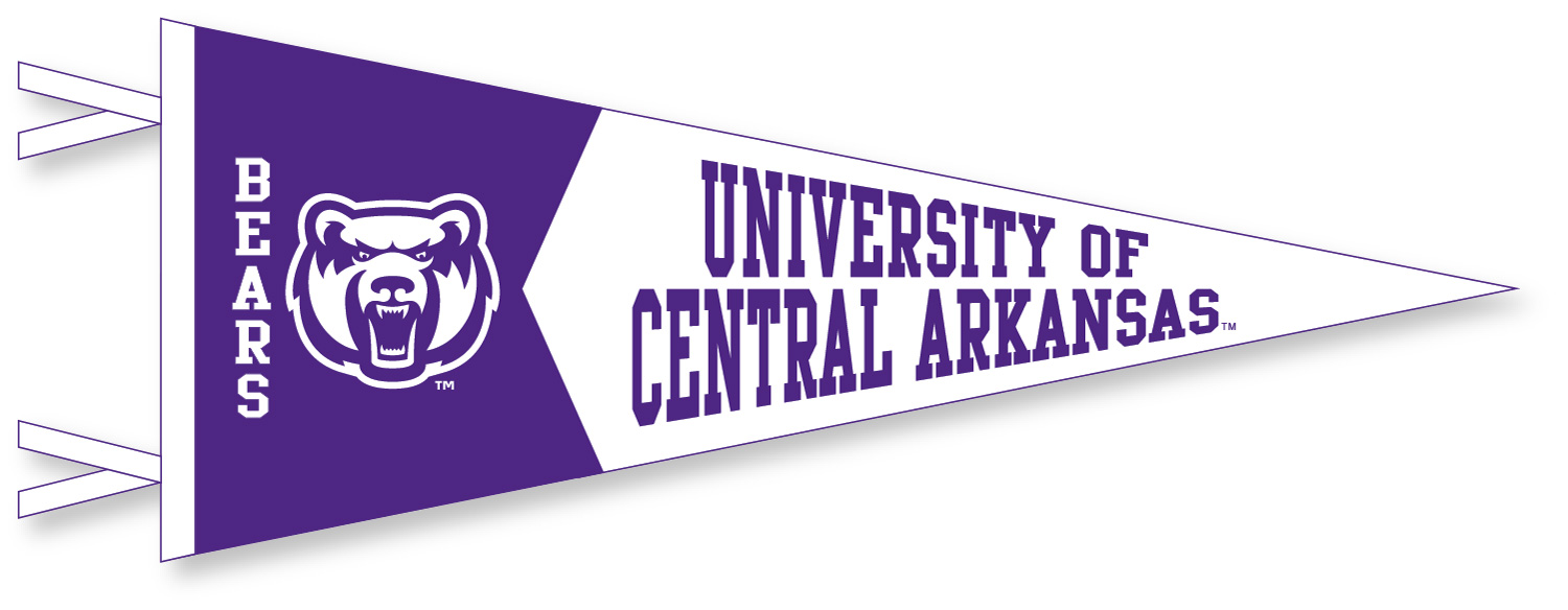 University of Central Arkansas Pennant