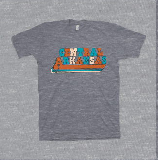 Funky Central Arkansas Tee