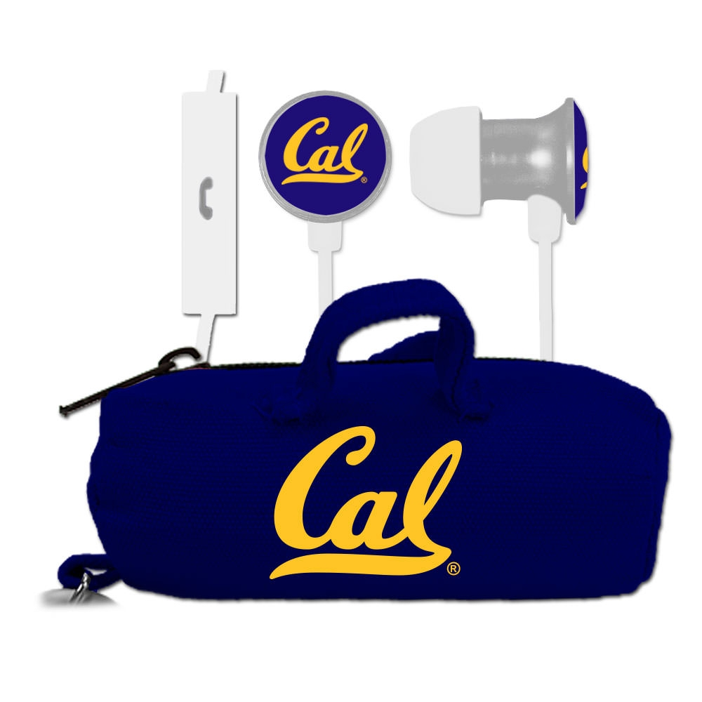 Cal Bears US Digital Custom Logo Scorch Earbuds