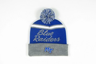 Blue Raiders Old School Scripty Beanie
