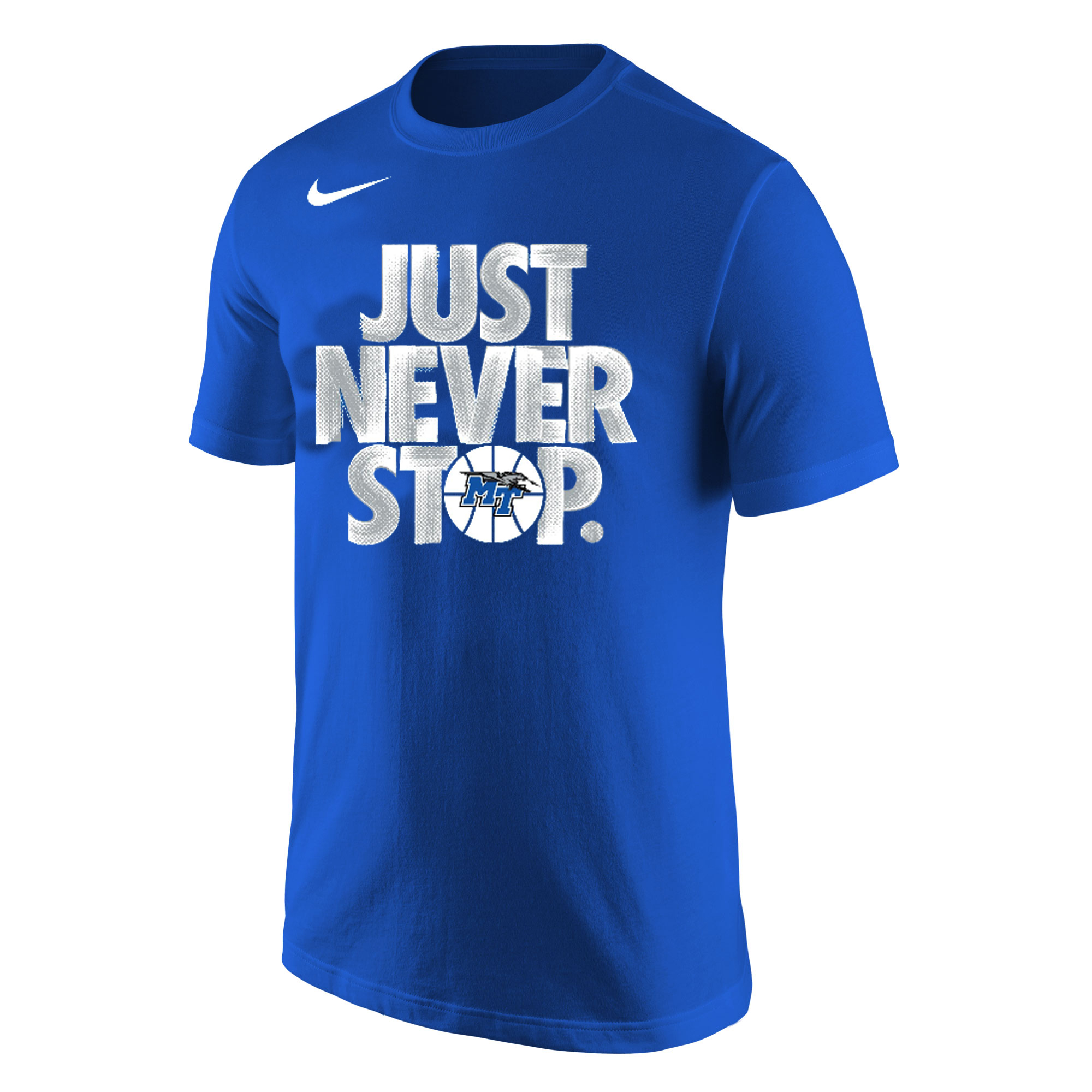Just Never Stop MT Nike® Shirt