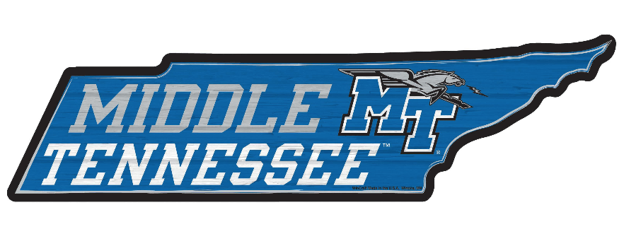 Middle Tennessee Wood State Sign