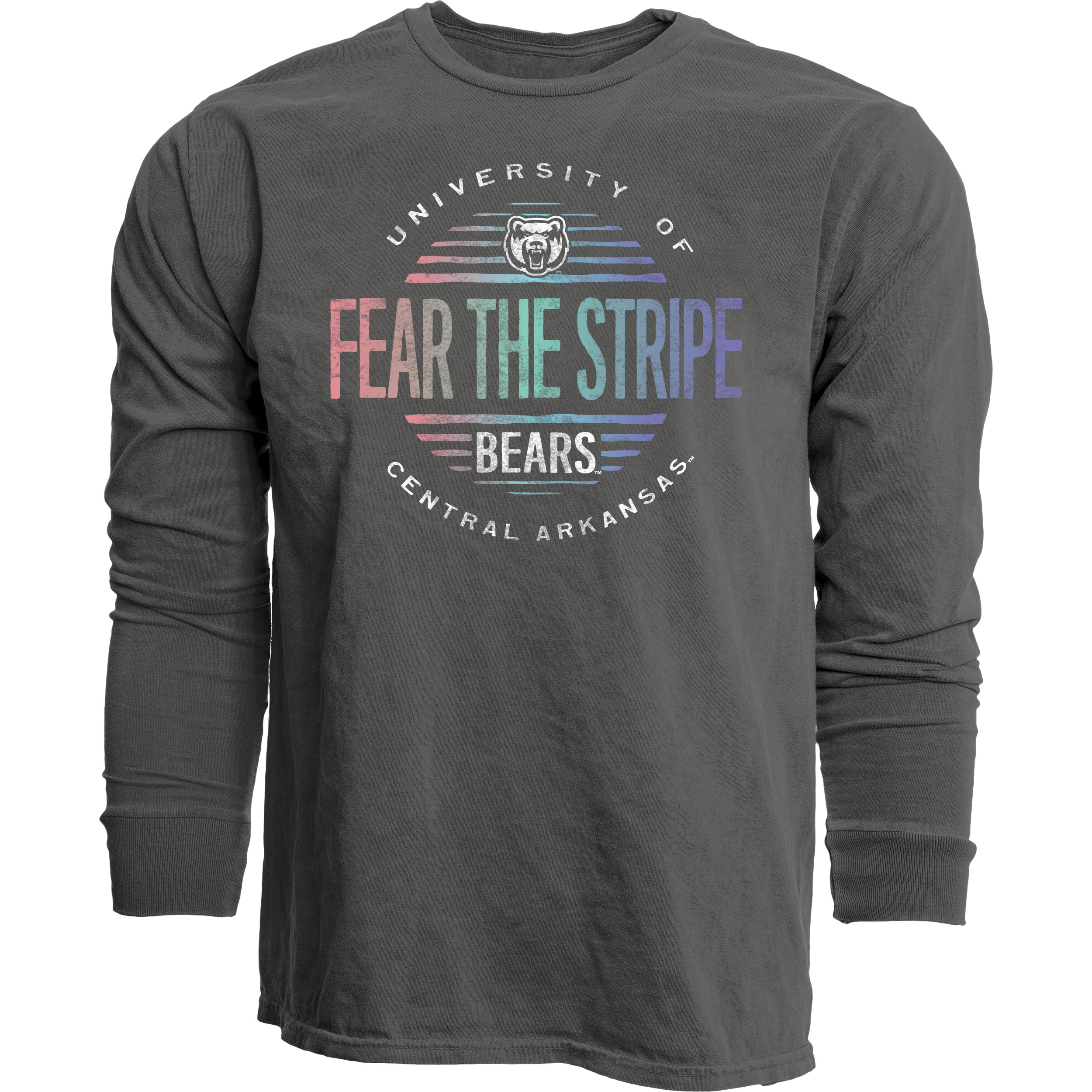 Fear The Stripes Dyed LS Tee