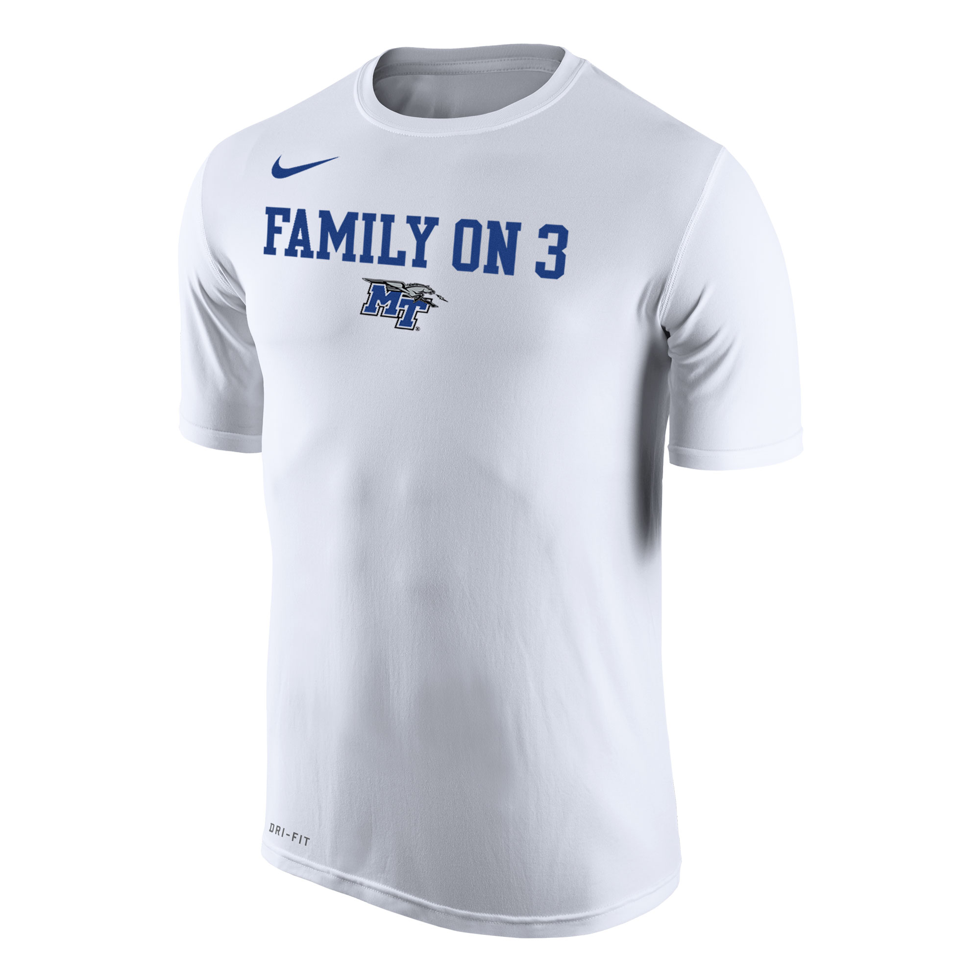 MT Family on 3 Nike® DriFit Shirt