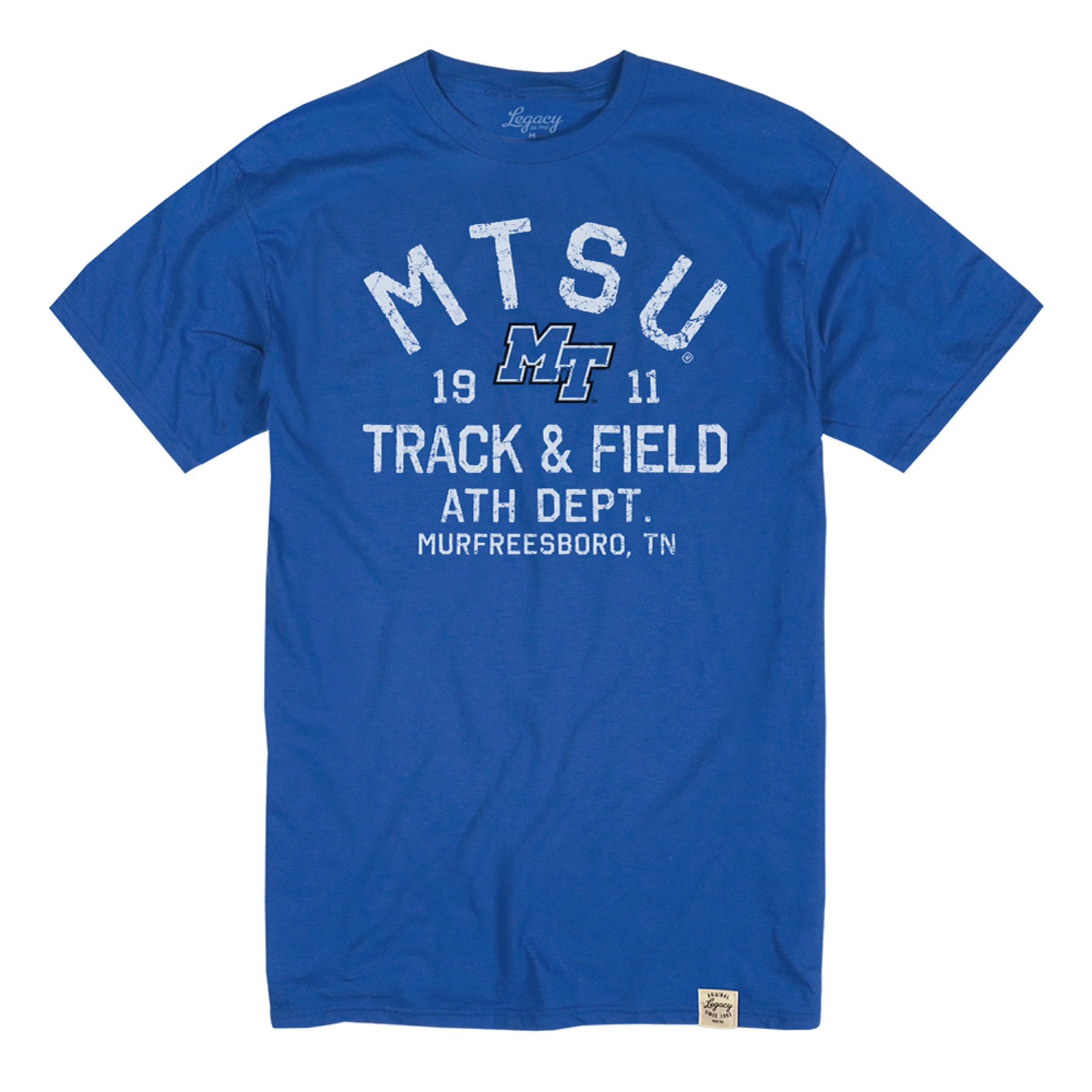 MTSU Track and Field Ath. Dept. Tshirt