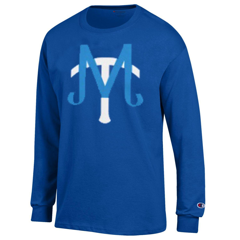 MT Baseball Logo Long Sleeve Shirt