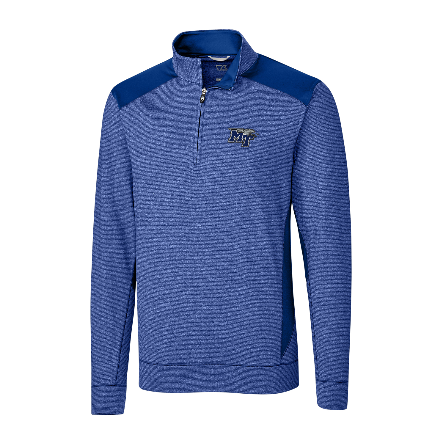 MT Logo w/ Lightning Shoreline Colorblock Pullover