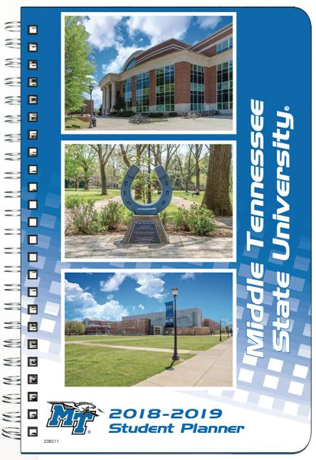 MTSU 2018-19 Student Planner