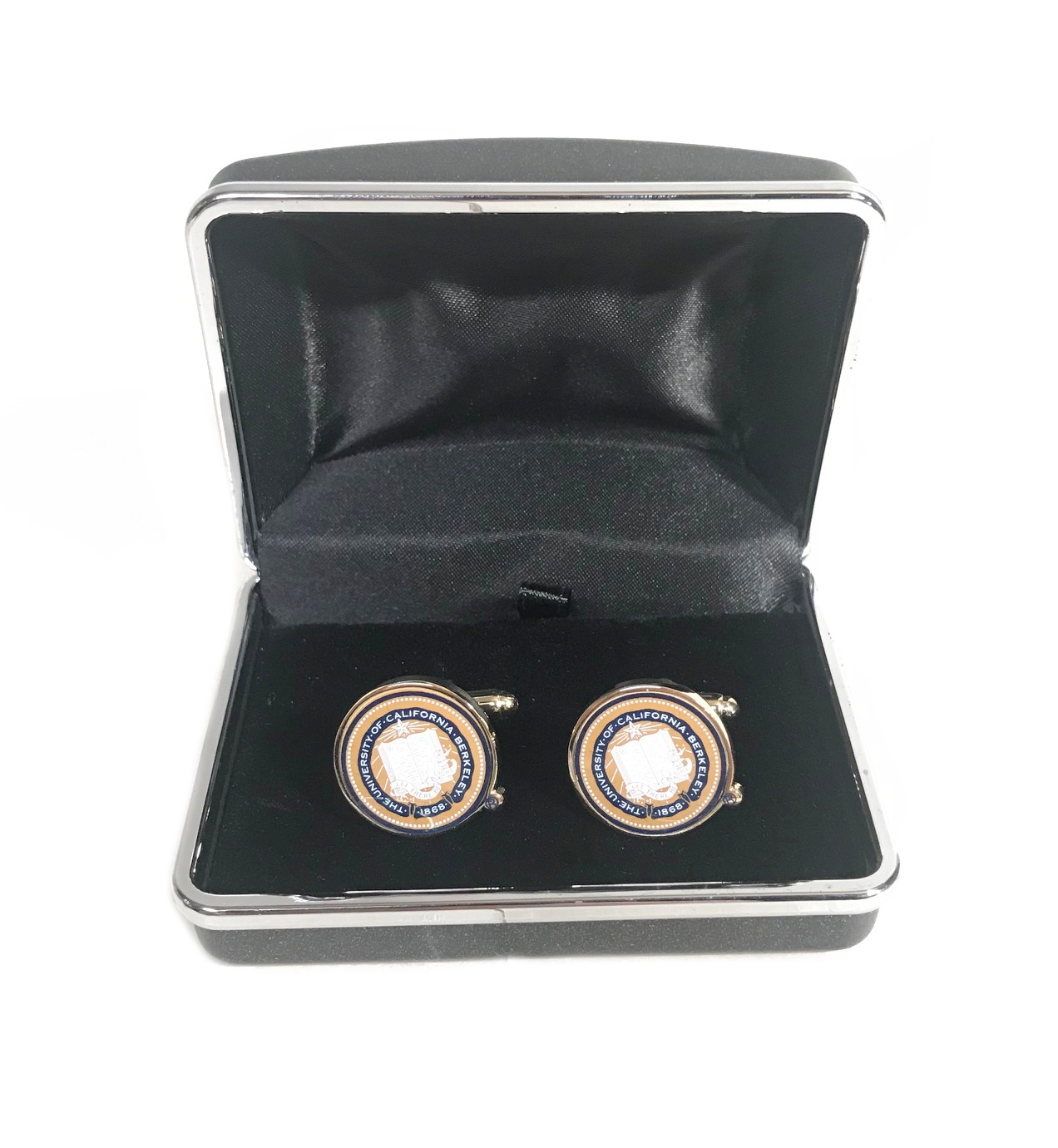 Custom Collegiate Cufflinks Full Color Seal