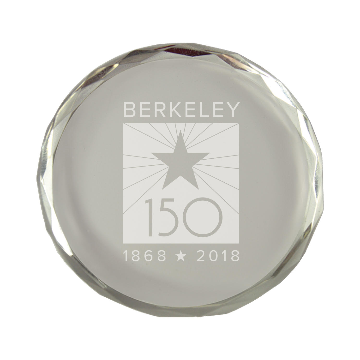Cal Bears Crystal Paperweight Berkeley 150