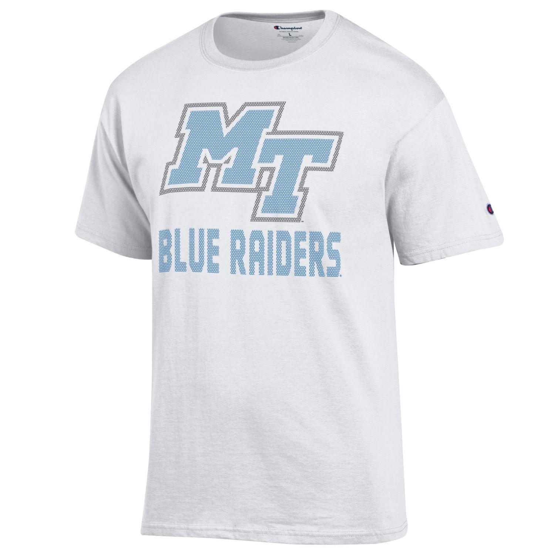 MT Blue Raiders Jersey Pattern Tshirt