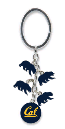 CAL Bears Charms Dangle Keytag