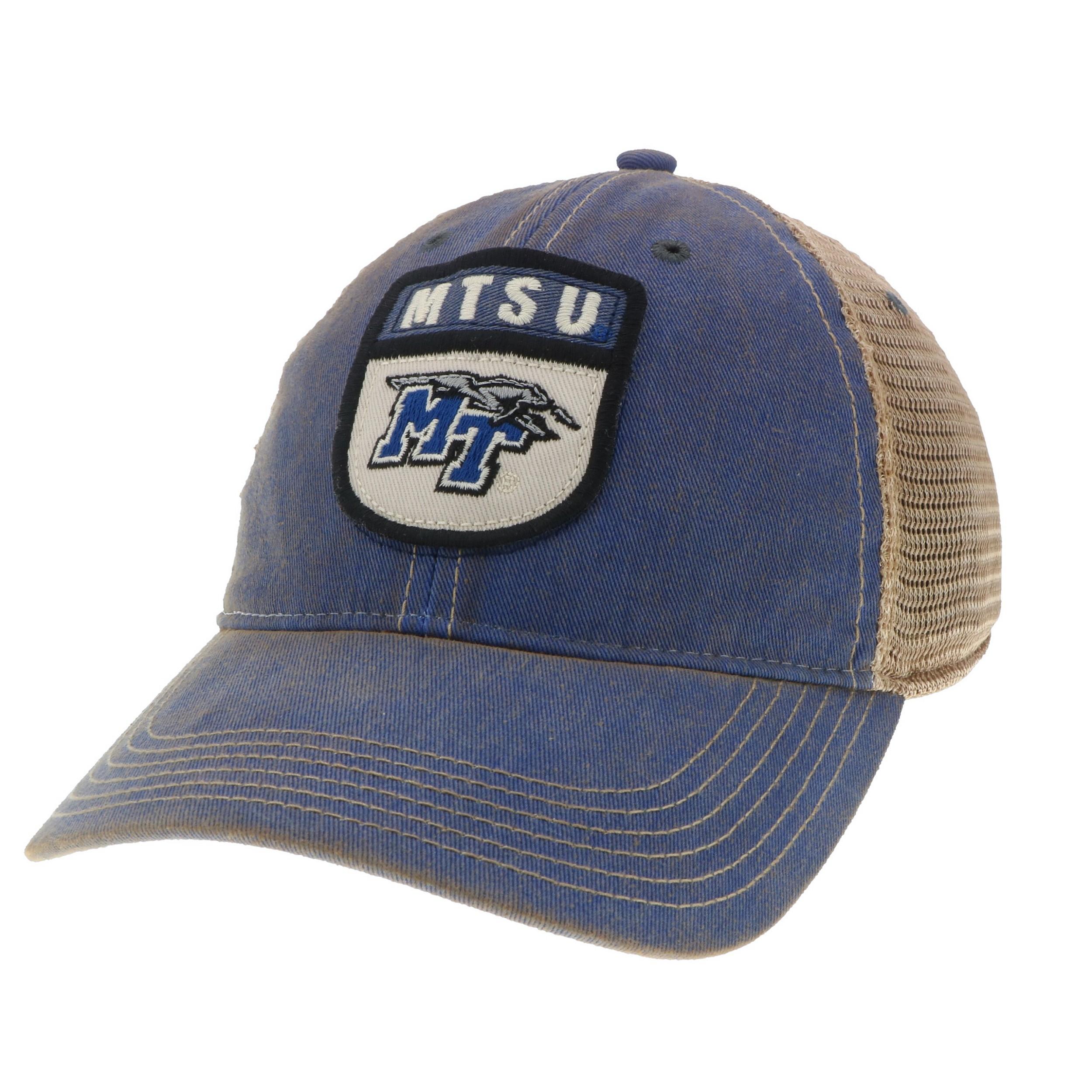 MTSU Prep Patch Old Favorite Trucker Hat