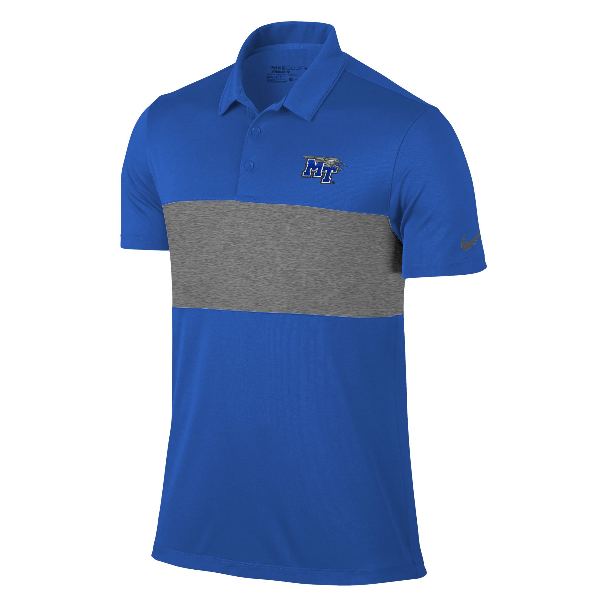 MT Logo w/ Lightning Breathe Color Block Nike® Golf Polo