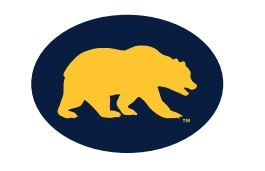 "Cal Bears 1"" Embroidered Patch"