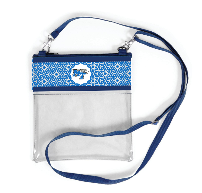 MT Logo Clear Game Day Crossbody