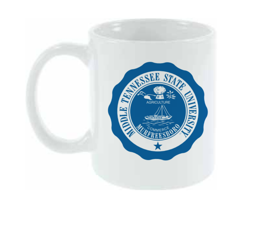 MTSU Seal 11 oz. Cafe Mug