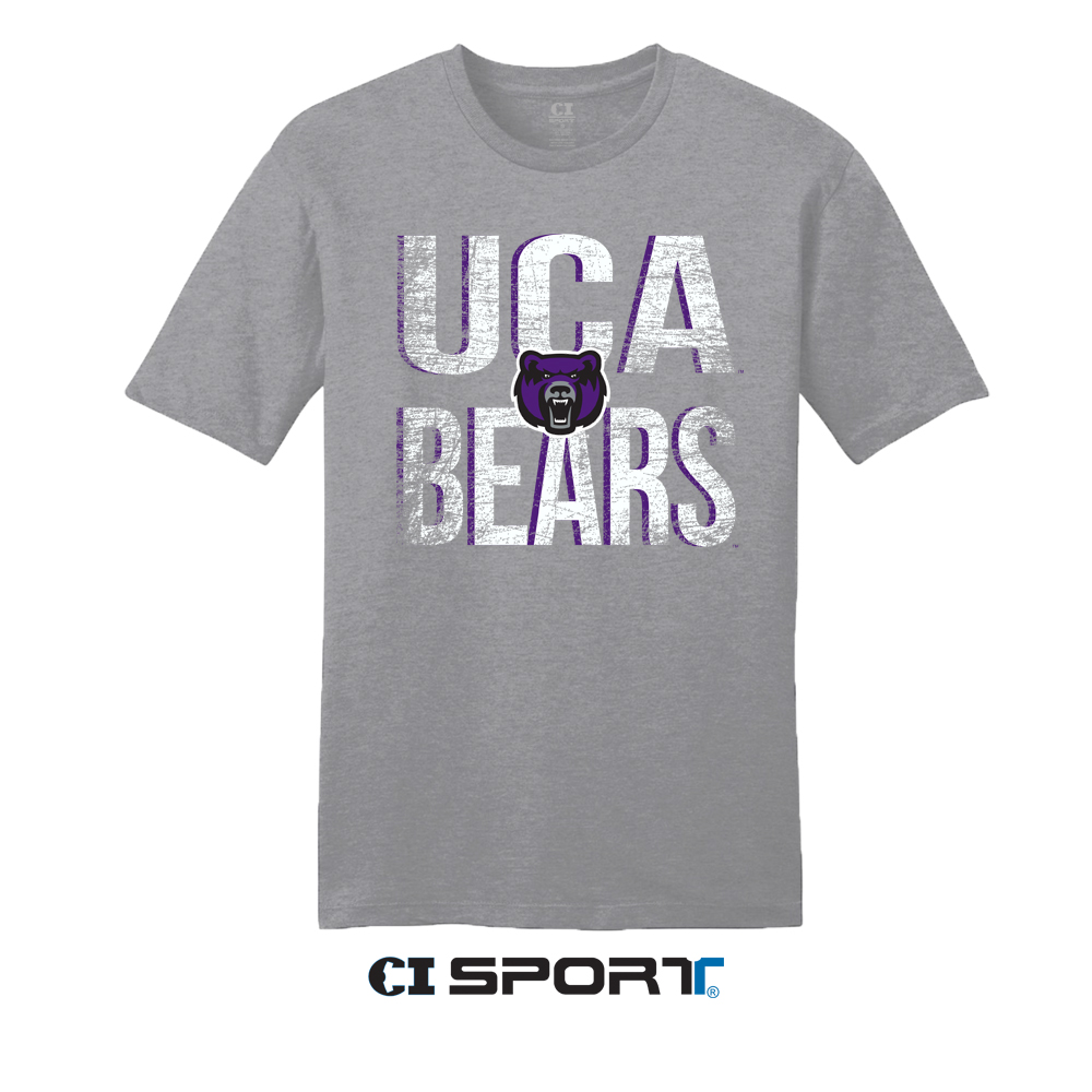 Distressed UCA Bears Tee