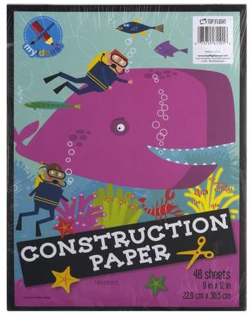 Construction Paper, 48 Sheets