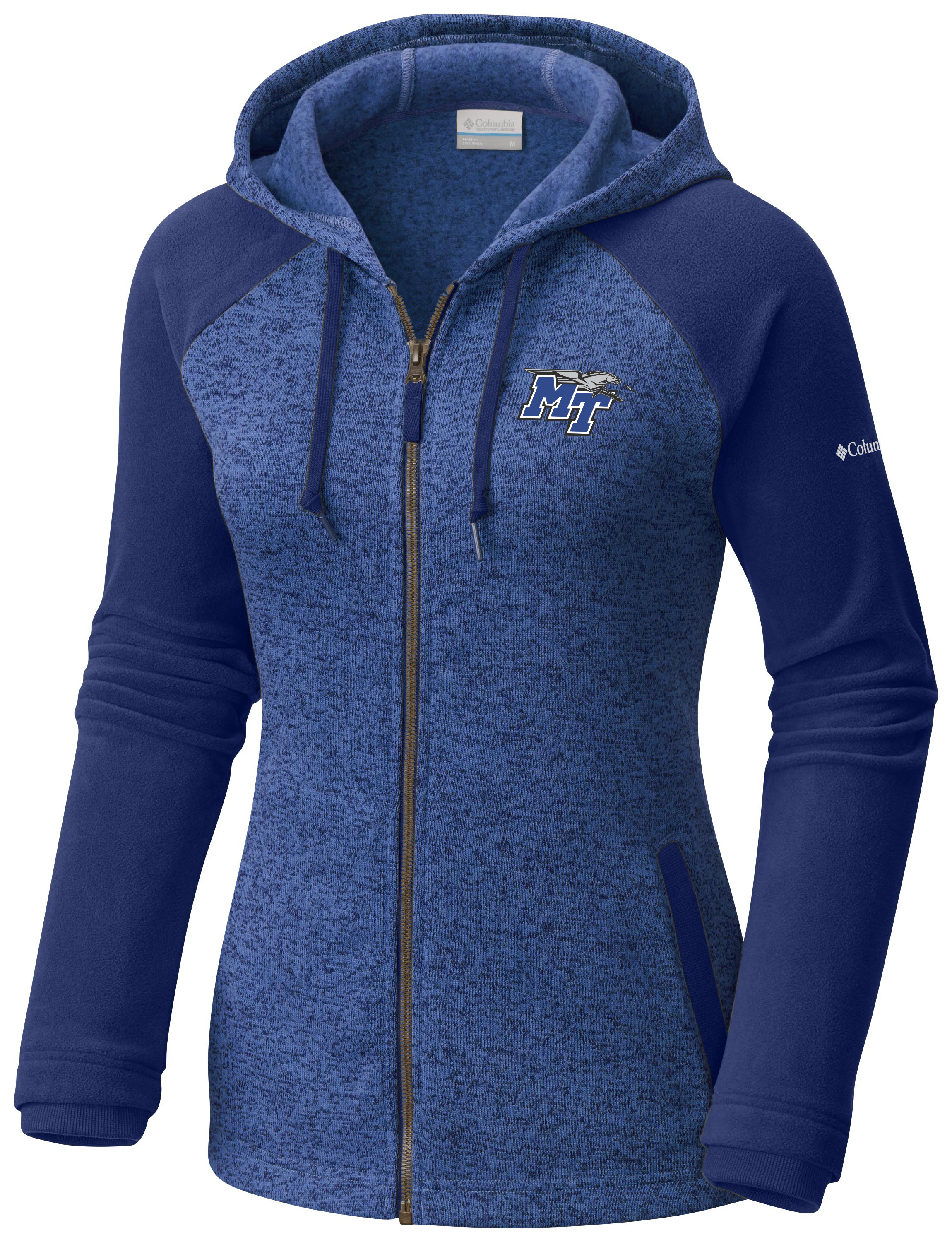 MT Logo w/ Lightning Darling Days Women's Full Zip Hoodie