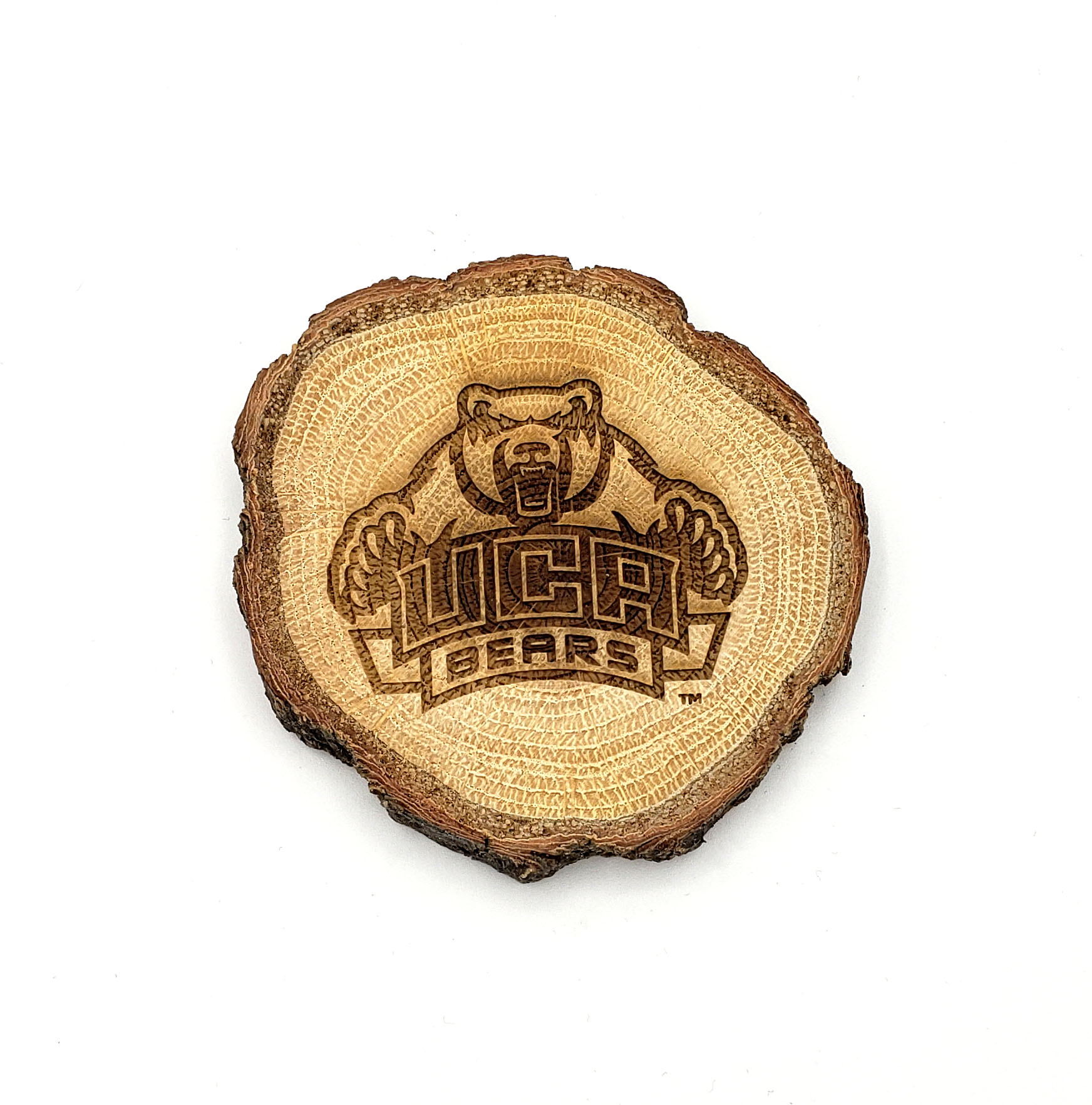 UCA Wood Slice Magnet